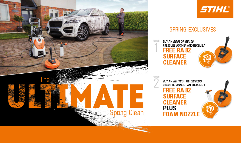 STIHL PRESSURE WASHER PROMOTION!