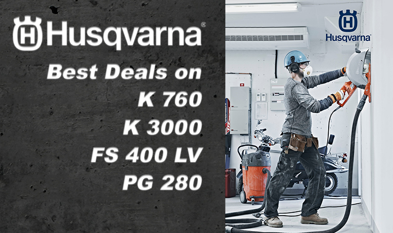 Husqvarna Saw - Disc and Floor Saws