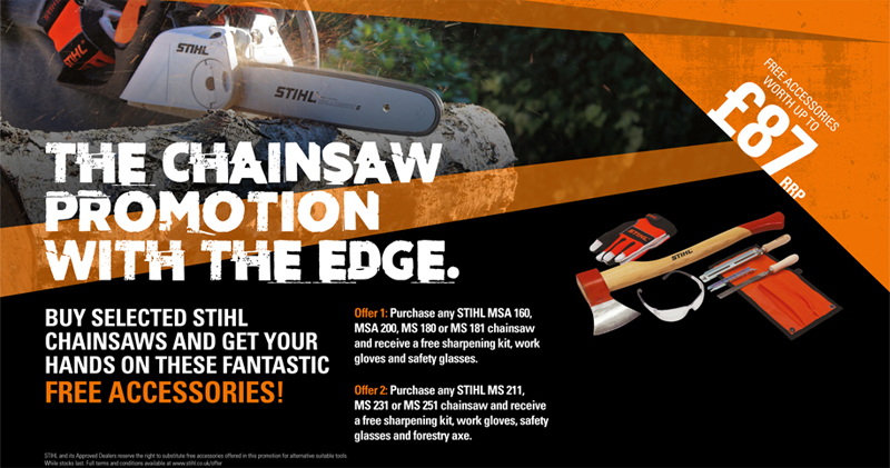 The Chainsaw Promotion with the Edge