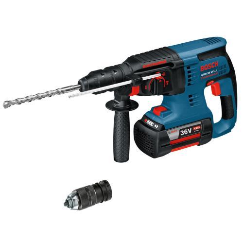 bosch gbh36vfli 36v sds hammer drill 4ah london power tools. Black Bedroom Furniture Sets. Home Design Ideas