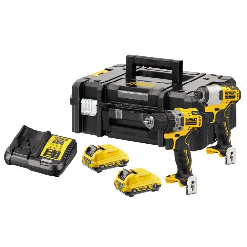 Dewalt Dck2110l2t 12v Brushless Twin Kit