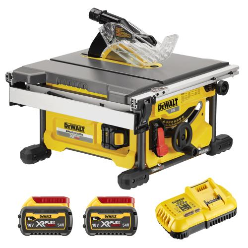 Dewalt Dcs7485t2-gb 54v Cordless Table Saw