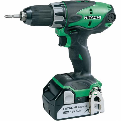 hitachi ds18dsl 18v cordless driver drill london power tools. Black Bedroom Furniture Sets. Home Design Ideas