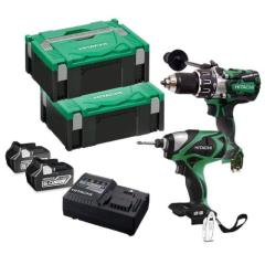 Hitachi Kc18dpl2/ja 18v Combi & I/driver Kit