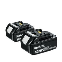 Makita Bl1830 18v 3.0ah Li-ion Battery X 2
