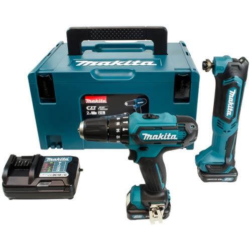 Makita Clx203ajx1 2pc Li-ion 10.8v Kit