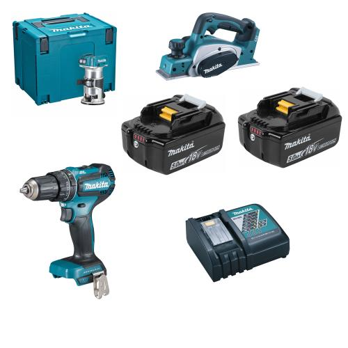 Makita Dlx3116tj 3 Piece Li-ion Kit
