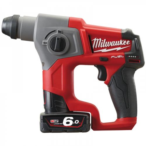 Milwaukee M12ch-602x 12v Fuel Sds+ Drill