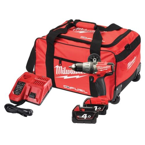 Milwaukee M18fpd-402b Fuel 18v Combi Drill