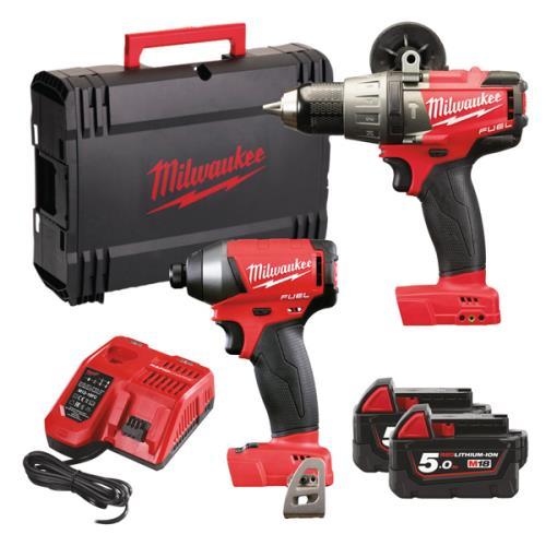 Milwaukee M18fpp2a-502x 18v Fuel Twin Pack