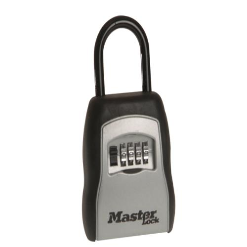 Master Lock Portable Shackled Comb Keylockbox
