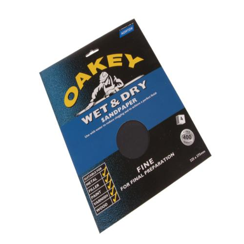 Oakey Flex Wet & Dry Paper Assorted (4) Sheet