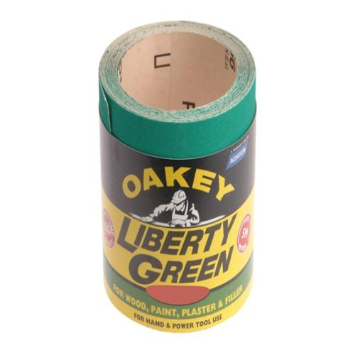 Oakey Liberty Green Roll 10m X 115mm 40g
