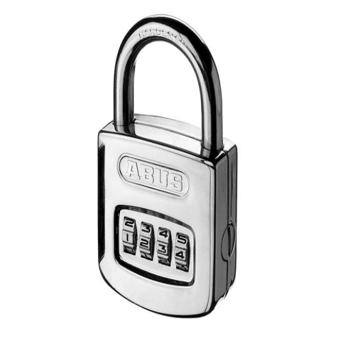 Abus 160 50mm Steel Case Combi Padlock Carded
