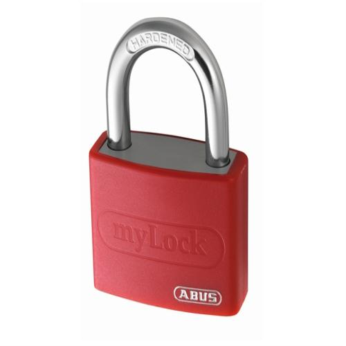 Abus T65al 40mm My Lock Alu Padlock Red