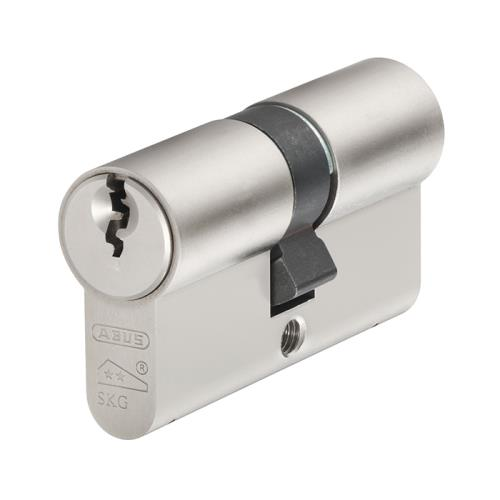 Abus E60np Double Tube Nickel Pearl 30mm/40mm