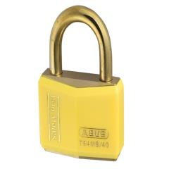 Abus T84mb 40mm Rustproof Padlock Yellow