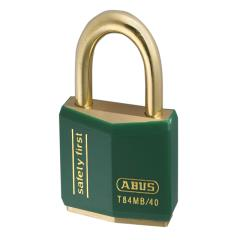 Abus T84mb 40mm Rustproof Padlock Green