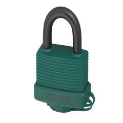 Abus 70al 45mm Alu Padlock Green Keyed 6401