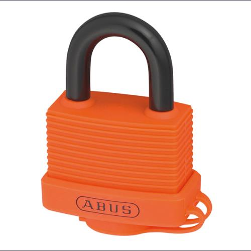 Abus 70al 45mm Alu Padlock Orange Keyed 6401