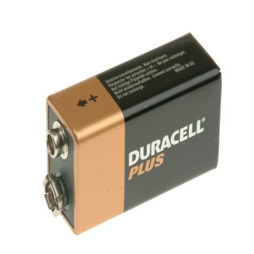 Duracell 9v Cell Plus Power Battery