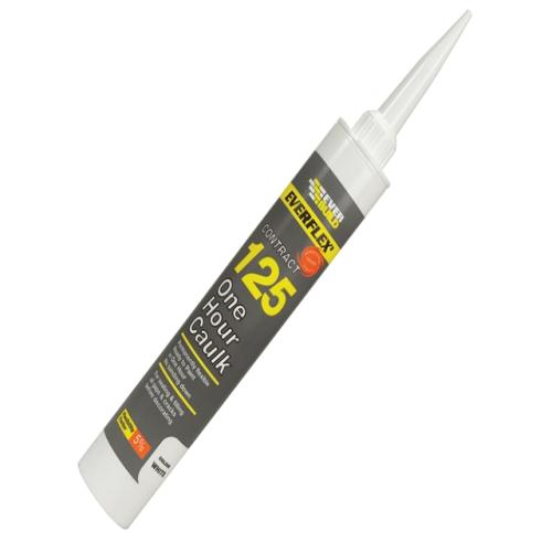 Everbuild One Hour Caulk 125 Magnolia 310ml
