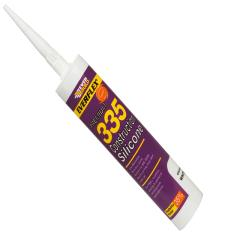 Everbuild 335 Construction Silicone Brown