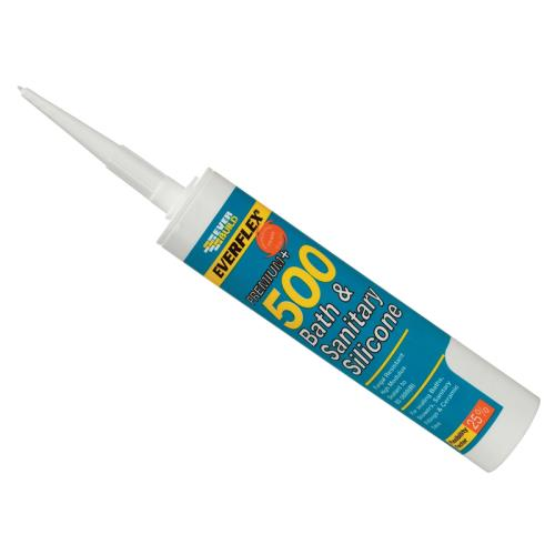 Everbuild Bath&sanitary Silicone Sealant Grey