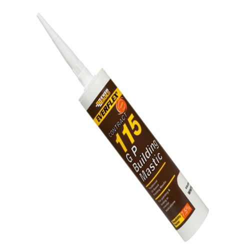 Everbuild 115 Building Mastic White 305ml