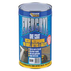Everbuild Evercryl One Coat Clear 5kg
