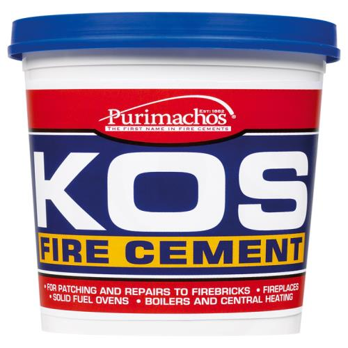 Everbuild Kos Fire Cement Black 1kg