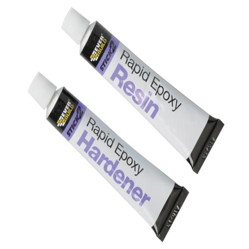 Everbuild Stick 2 Rapid Epoxy Tube 2 X 12ml