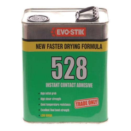 Evo-stik 528 Instant Contact Adhesive 2.5l
