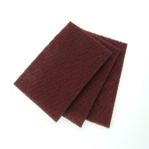 Faithfull Hand Pad Maroon Very Fine 230x150mm