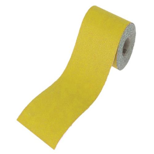 Faithfull Sanding Yellow 115mm X 5m 120g
