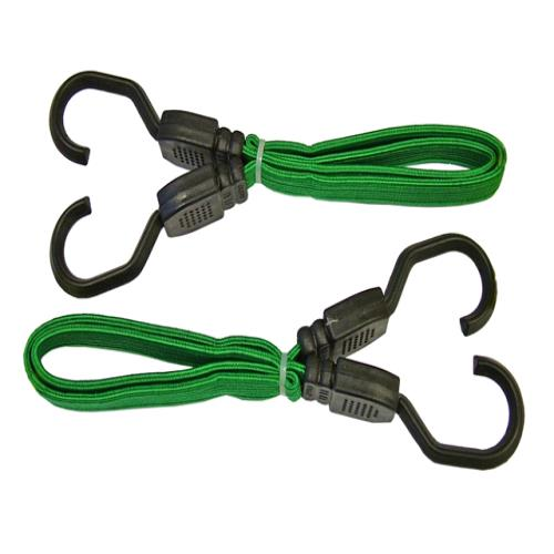 Faithfull Flat Bungee Cord 61cm (24in) Green