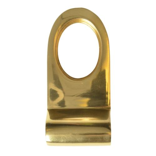 Forge Cylinder Pull - Brass Finish