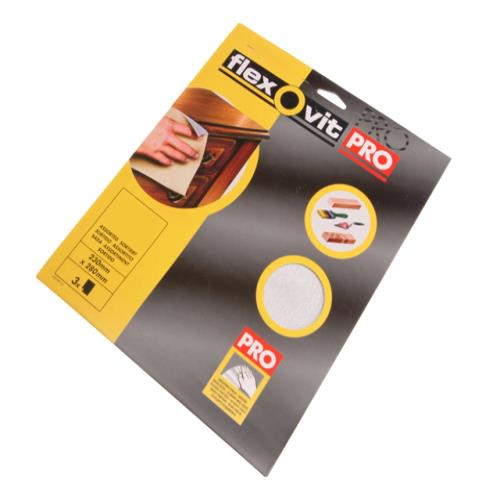 Flexovit Sanding Sheets Medium 180g (15)