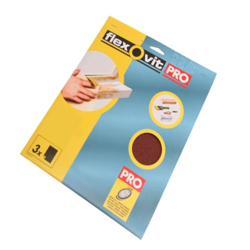 Flexovit Sanding Sheets 230x280mm Assorted