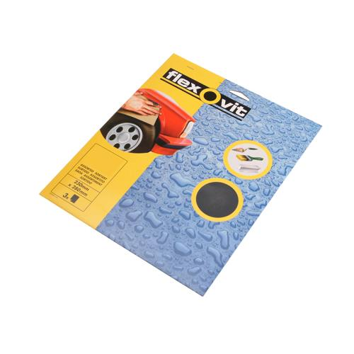 Flexovit Waterproof Sanding Sheets 800g