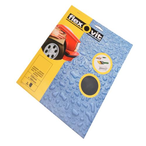 Flexovit Waterproof Sanding Sheets 150g