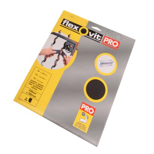 Flexovit Emery Cloth Sanding Sheet Fine 150g