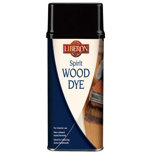 Liberon Spirit Wood Dye Ebony 250ml