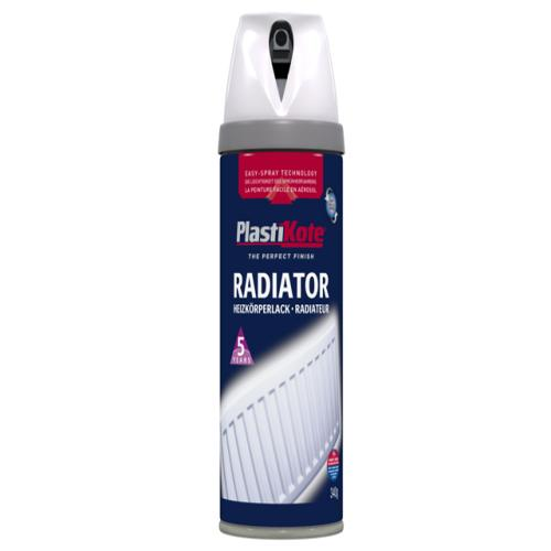 Plasti-kote Radiator Gloss White 400ml