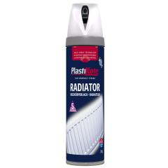 Plasti-kote Radiator Satin White 400ml