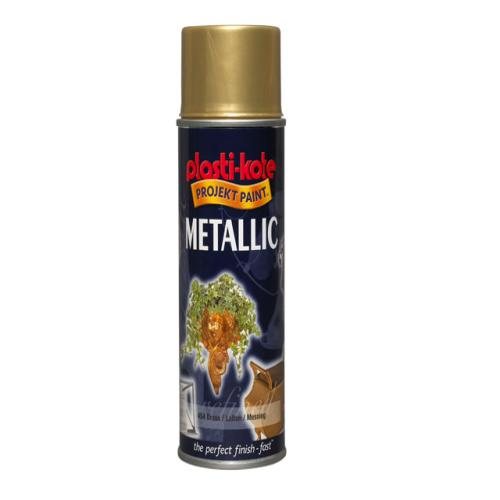 Plasti-kote Metallic Brass 400 Ml