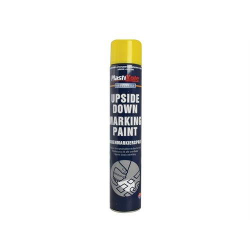 Plasti-kote Upside Down Mark Paint Yellow