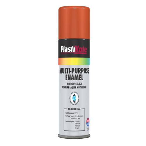 Plasti-kote Multi Purpose Enamel Gloss Orange