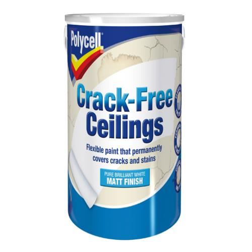 Polycell Crack-free Ceilings Smooth Matt 5l