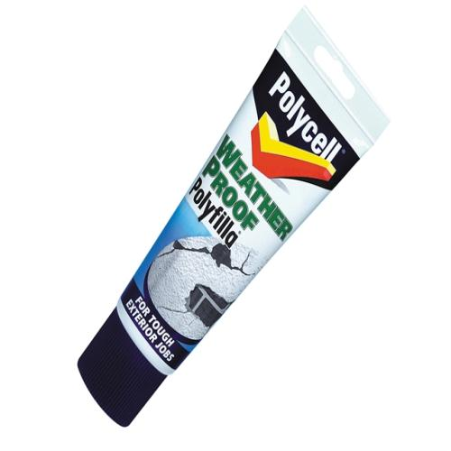 Polycell Weatherproof Filler Tube 330g
